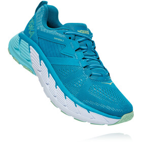 Hoka One One Gaviota 2 Shoes Women, caribbean sea/green ash